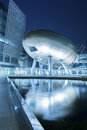 Hong kong science and technology parks buildings in Stock Image