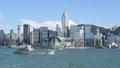 hong Kong skylight Royalty Free Stock Photo