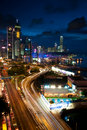 Hong Kong Skyline. Royalty Free Stock Photography
