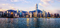 Hong Kong skyline Royalty Free Stock Photo