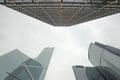 Hong Kong skyscrapers Royalty Free Stock Photo