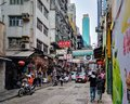 stock image of  Hong Kong Street Life