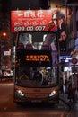 Hong Kong bus Royalty Free Stock Photo