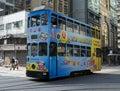 Hong Kong Tram Royalty Free Stock Photo