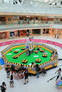 Hong kong vs bomberman game event located in metro city plaza on june th the aims to promote cartoon it Stock Photo