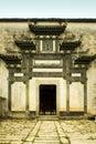 Hongcun, typical huizhou architecture Royalty Free Stock Photo