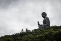 Hongkong big buddha Royalty Free Stock Photo