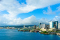 Honolulu hawaii united states beautiful view of Royalty Free Stock Photography