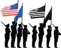 Honor guard Royalty Free Stock Photo