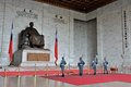 Honor Guard in Chiang Kai-shek Memorial Hall Royalty Free Stock Photo