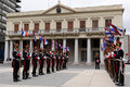 Honor Guard at Montevideo Royalty Free Stock Image