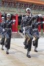 Honor guard taipei held a ceremony Stock Photography