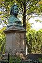 Honore de balzac monument in the cemetery pere lachaise paris france Stock Photos