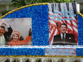 Honoring Ronald Reagan Royalty Free Stock Images