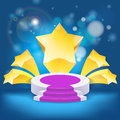 Honour succeed podium  rostrum Royalty Free Stock Photography