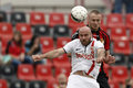 Honved contre le match de football de dvtk Photos libres de droits