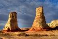 Hoodoo Navajo Nation Arizona Royalty Free Stock Photo