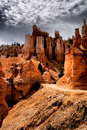 The Hoodoos of Bryce Canyon Royalty Free Stock Photo