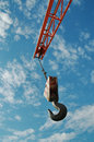 Hook and crane Stock Photo