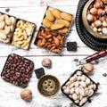 Hookah with nut taste Royalty Free Stock Photo