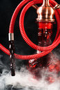 Hookah smoke Stock Photo
