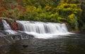 Hooker Falls Autumn Waterfalls Dupont State Forest NC Fall Foliage