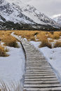 Hooker Valley Track Stock Photo