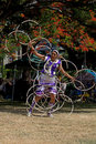Hoop Dancer Royalty Free Stock Image
