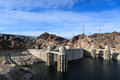 Hoover dam arizona nevada usa Royalty Free Stock Photo