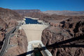 Hoover Dam on Colorado River & Lake Mead Royalty Free Stock Photos