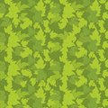 Hop green leaves background template. Plant solid fill. Vector flat Illustration. Square banner format stock clipart. Dark green