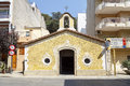 Hope chapel in blanes barcelona spain Royalty Free Stock Photo