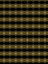 Hope and choice special textile pattern for different uses in black golden tones Royalty Free Stock Photo