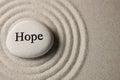 Naději kámen
