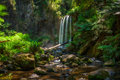 Hopetoun Falls across the Aire River in  Victoria, Australia Royalty Free Stock Photo