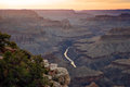 Hopi Point, Grand Canyon Stock Photos