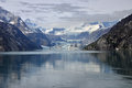 Hopkins glacier in bay alaska Stock Images