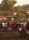 Hores resistencia vall del tenes motocross de catalonia spain Royalty Free Stock Photography