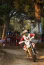 Hores resistencia vall del tenes motocross de catalonia spain Stock Photography