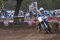 Hores resistencia vall del tenes motocross de catalonia spain Royalty Free Stock Photos