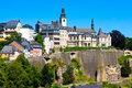 Horizon du luxembourgeois Images libres de droits