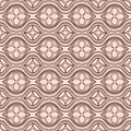 Horizontal brown and beige floral pattern seamless abstract Royalty Free Stock Photos