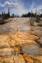 Horizontal de Yellowstone Photos stock