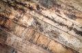horizontal grunge wood texture Royalty Free Stock Photo
