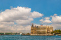 Horizontal hdr photo haydarpasa train station istanbul turkey Stock Image