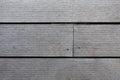 Horizontal lath tile wood tiles Stock Images