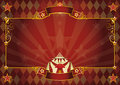 Horizontal rhombus circus background Royalty Free Stock Photo