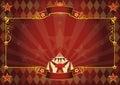 Horizontal rhombus circus background Royalty Free Stock Photo