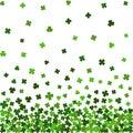 Horizontal seamless pattern for St. Patricks day.