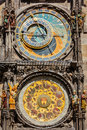 Horloge astronomique de prague Photos stock